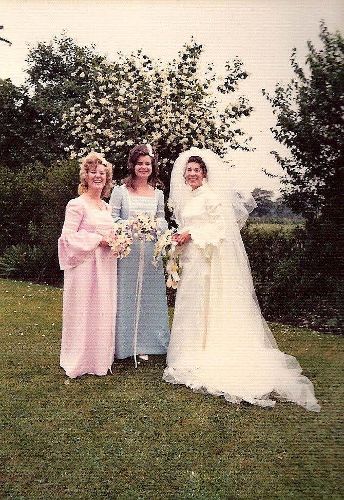 1972 wedding | 1970s real vintage weddings