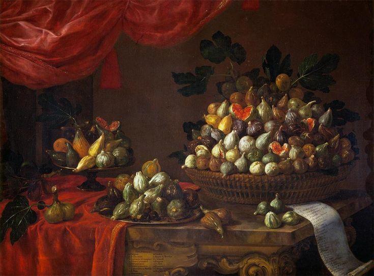 Bartolomeo Bimbi - figs 1696. Bartolomeo Bimbi (1648–1723) was a Florentine painter of still lifes , large canvases of flora and fauna