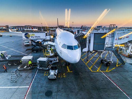 Airbus A330-300 at JFK International Airport