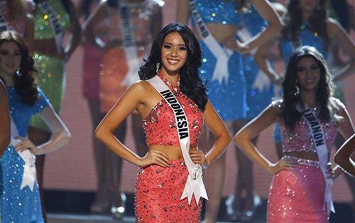 Elvira Devinamira TOP 15 & Best National Costume Miss Universe 2015
