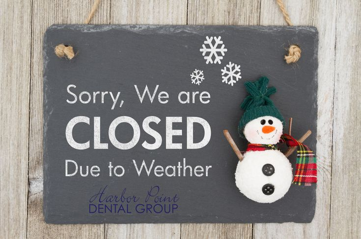 Due to inclement weather, Harbor Point Dental Group is closed. If you had a scheduled appointment, our office will contact you soon to reschedule. If you have any questions, please contact Harbor Point Dental Group at (203) 548-0826, and we will get back to you at our earliest convenience. Stay safe and thank you for choosing Harbor Point Dental Group. #WinterStormGrayson #HarborPointDental #Dentist #WinterStorm #StamfordCT #Connecticut