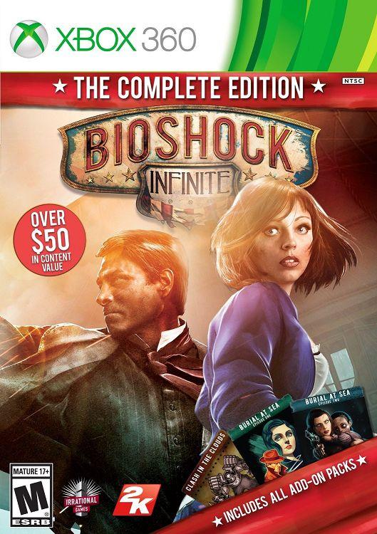 Games (Oyunlar) Bedava Oyun Sitesi: [UL] BioShock Infinite Complete Edition XB0X360-RF...