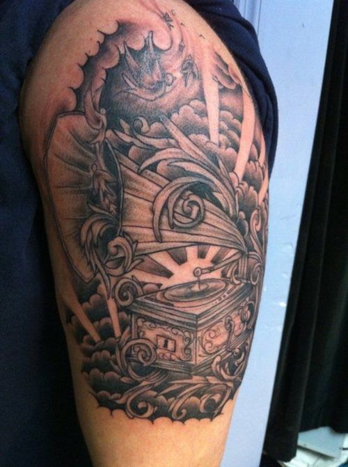 29 best Storm Cloud Tattoo Designs images on Pinterest ...