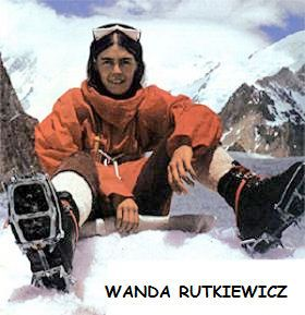La polaca Wanda Rutkiewicz, considerada por muchos como la más grande alpinista del siglo XX, fue la primera mujer en conquistar el K2, en 1986.