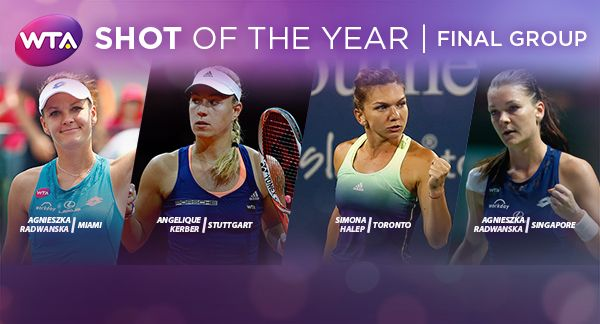 Yes it's that time of the year now. Vote and support Agnieszka Radwanska to let her win the WTA Shot of the Year 2016 title. #vote #support #LottoSportIndia wtatenn.is/Ygx00T