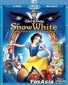Snow White And The Seven Dwarfs (2-Blu-ray Edition)  (Hong Kong Version). $44