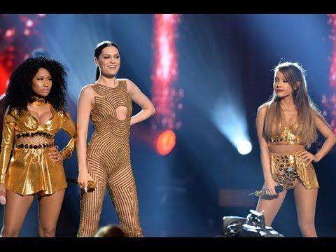 Jessie J ft. Ariana Grande & Nicki Minaj - Bang Bang AMA's 2014 - YouTube