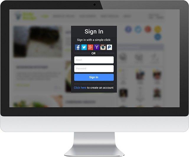 Gigya Product Social Login