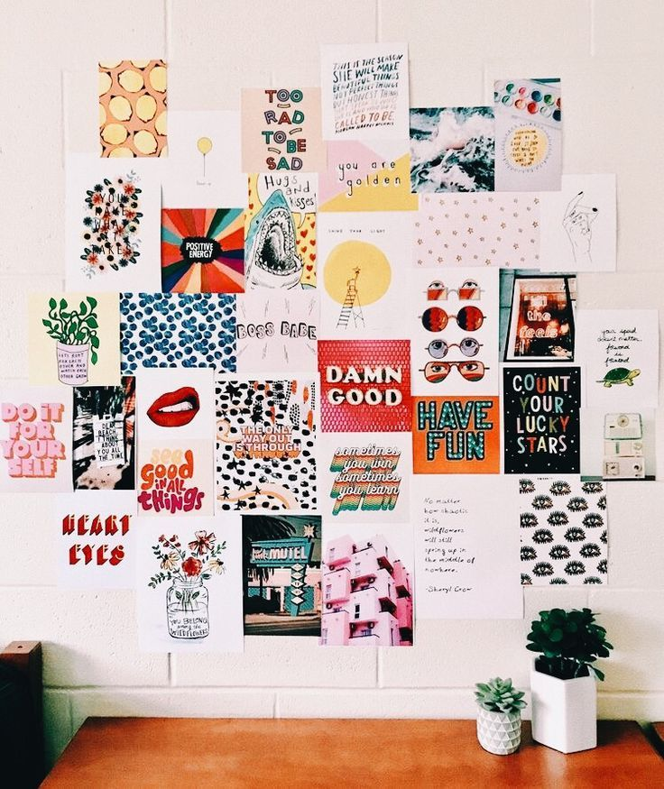 Aesthetic Wall Collage Ideas