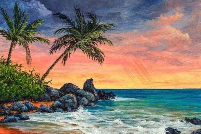 15 Gambar Lukisan Pemandangan Di Laut Contoh Lukisan Gambar Pemandangan Laut Pemandangan Sunset Download Gambar Pantai Pemandangan Laut Lukisan Cat Minyak In 2020