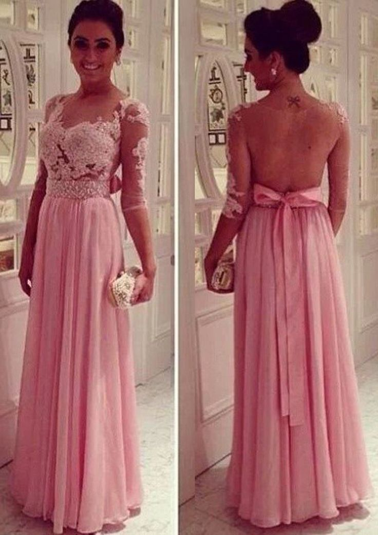 MZ0824 See Through A Line Sweetheart Half Sleeves Beaded Long Dresses for Prom 2014 Hot Selling $149.88