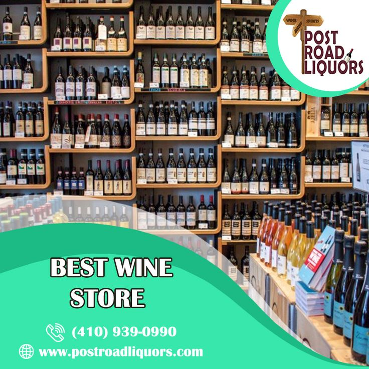 The best wine store is a great way to complement a good