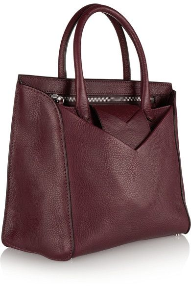 Maison Margiela | Textured-leather tote | NET-A-PORTER.COM