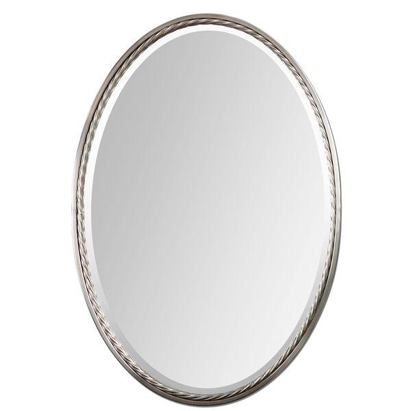 Uttermost Casalina Brushed Nickel Mirror