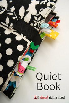 Thread Riding Hood - Quiet Book - Construction