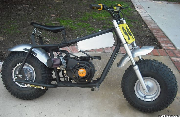 Manco Big Cat vs Baja Warrior - OldMiniBikes.com Forum