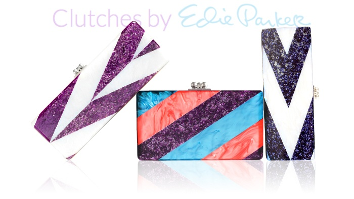 Handcrafted & deliciously glam..Studio 54 clutches, curated by Nylon's Dani Stahl.