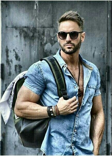 Denim put together right #men style