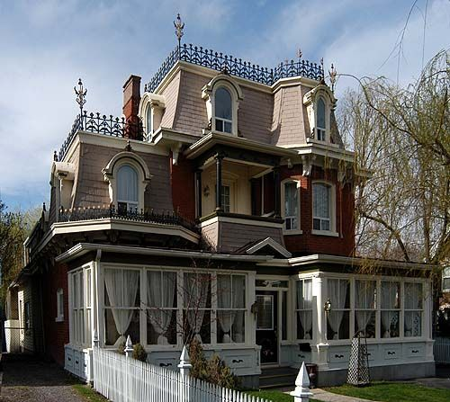 Best 347 Best Second Empire Victorian Homes Images On Pinterest 400 x 300