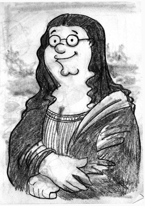 1000 images about family guy on pinterest family guy for Can you buy the mona lisa
