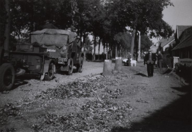 Antwerpsestraat October 1944 Putte