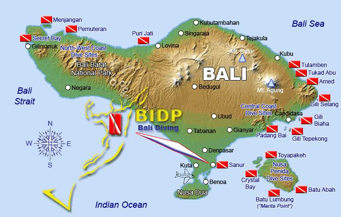 Bali dive sites bali indonesia 39 s dive sites and scuba - Padi dive sites ...