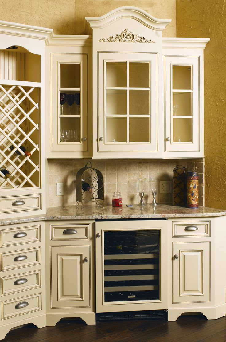 43 best kitchens images on pinterest home kitchen ideas and beautiful amish kitchen w wine rack and cooler