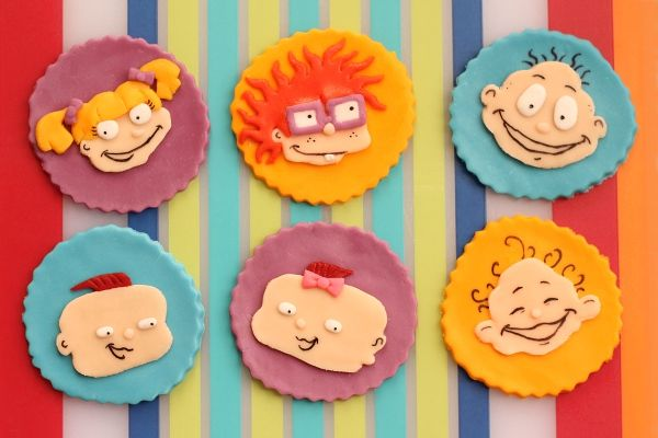 Rugrats Cupcake Toppers For A Birthday Marshmallow