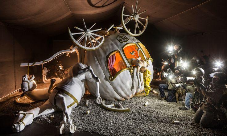 dismaland banksy   Dismaland – Banksy revela novo projeto inspirado na Disney