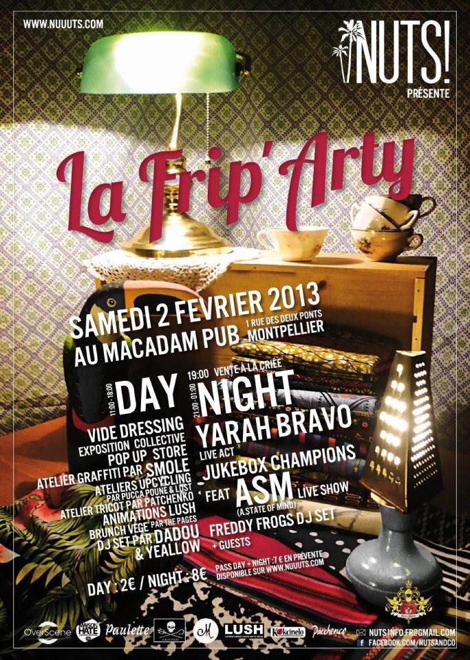 LA FRIP'ARTY 1 , Le 2 Février 2013. MTP