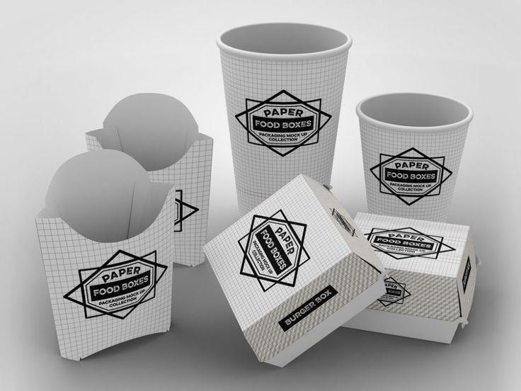 This set includes cups, fries boxes and burger boxes mockups. You can change the branding as well as the background. Print-ready PSD file measuring 3900 x 3000 px at 300 dpi.