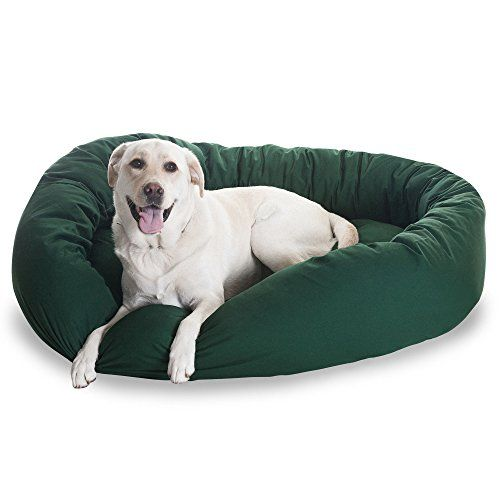 1 Piece Hunter Green Extra Large 52 Inches Comfort Pet Bed