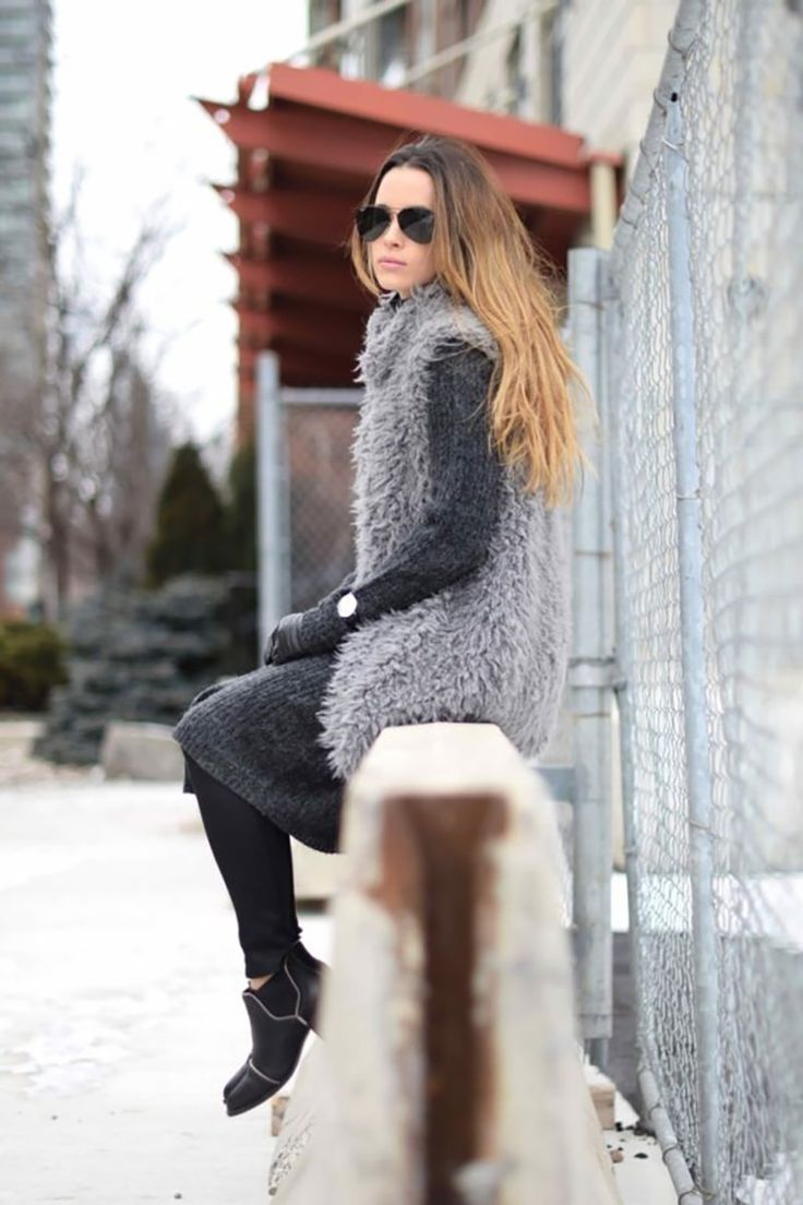 Fur jackets with outfits for 2017 – LuxeFashion Life