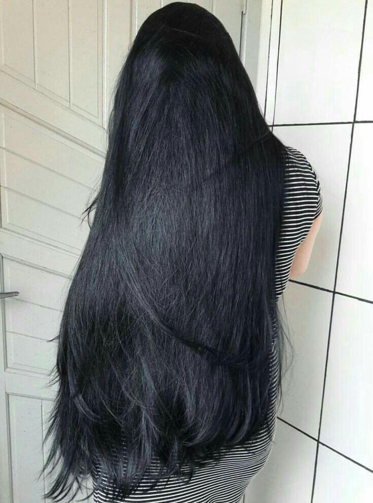 Nice Hair I Like Long Hair Styles Long Black Hair Thick Hair Styles