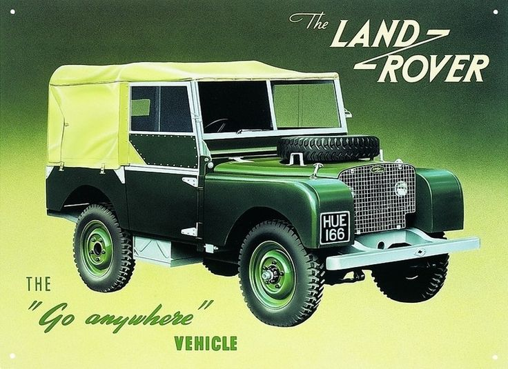 The Land Rover name was originally used by the Rover Company for one specific vehicle model, named simply the Land Rover, launched by Rover in 1948. Over the following years it developed into a marque encompassing a range of four-wheel-drive models, including the Defender, Discovery, Freelander, Range Rover, Range Rover Sport and Range Rover Evoque. Although the brand originates from the original 1947 model, Land Rover as a company has only existed since 1978.