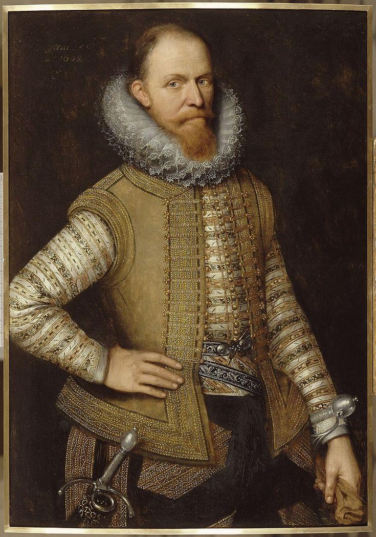 Maurice of Nassau was sovereign Prince of Orange from 1618, on the death of his eldest half brother, Philip William, Prince of Orange.