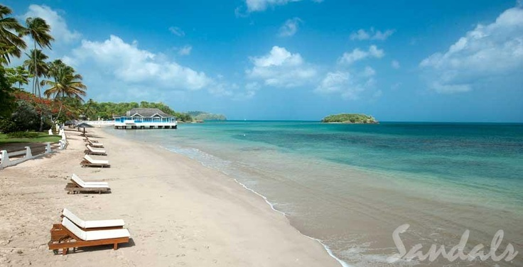 where we'll honeymoon in St Lucia
