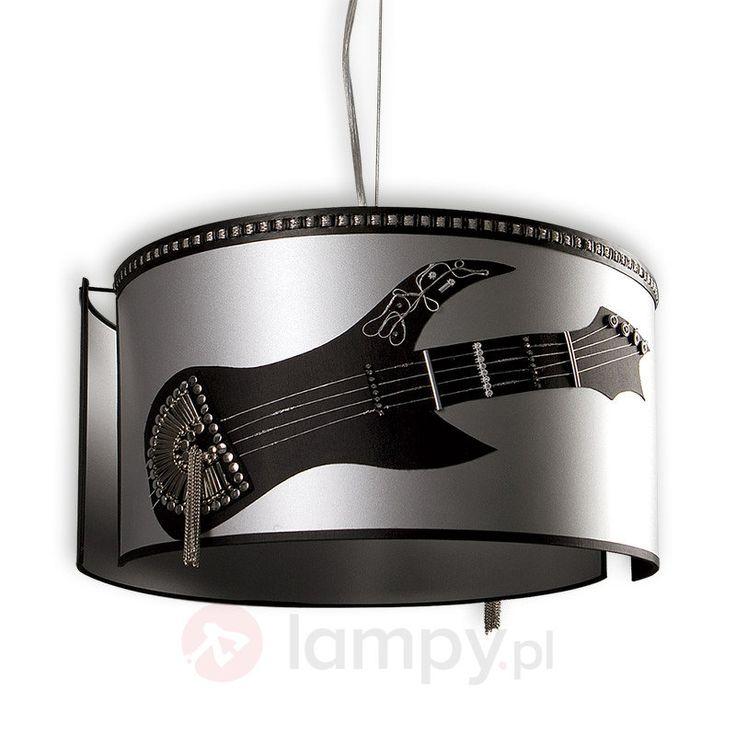Lampa wisząca ROCK, szara 8574091