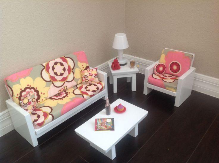 73 best ideas about american girl on pinterest crochet American girl doll living room furniture