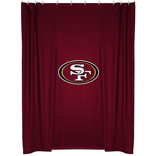 Sports Coverage San Francisco 49ers Shower Curtain - NFLShop.com