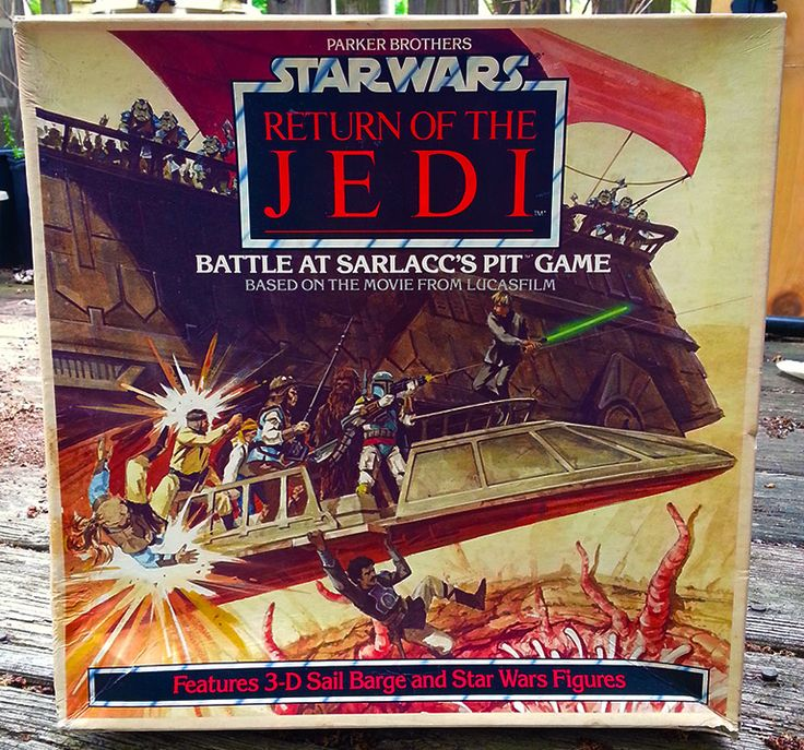 Collectibles From The Outer Rim Battle At Sarlaccs Pit