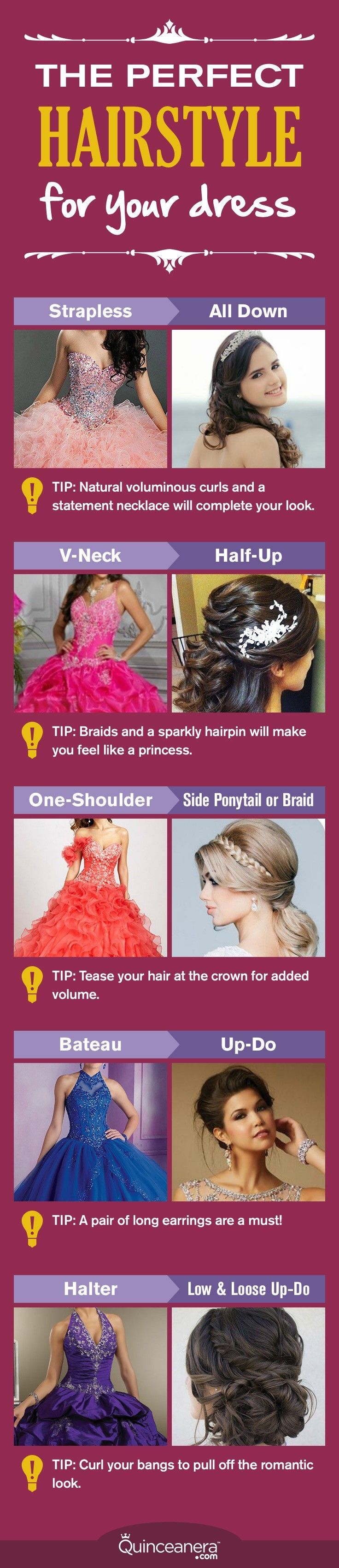 It's time to examine the neckline on your dress and find out the Quince hairstyle you're meant to show off! - See more at: http://www.quinceanera.com/hair-styles/the-perfect-quince-hairstyle-according-to-your-dress-neckline/?utm_source=pinterest&utm_medium=social%20&utm_campaign=hair-styles-the-perfect-quince-hairstyle-according-to-your-dress-neckline#sthash.kpcyddhe.dpuf