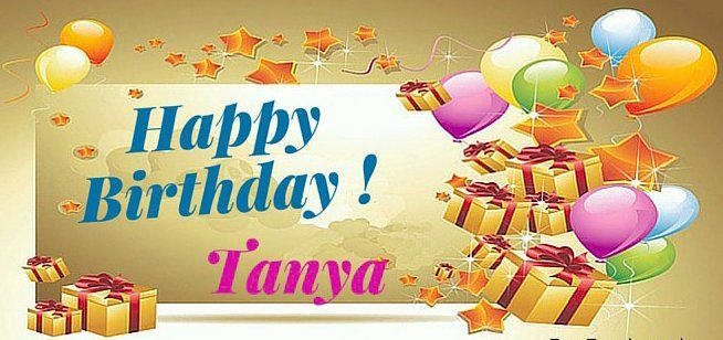 Image Result For Happy Birthday Tanya Funny With Images Happy