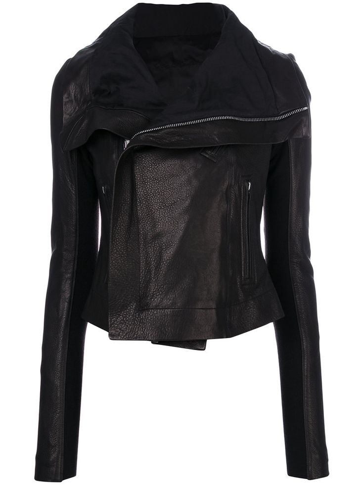 ¡Cómpralo ya!. Rick Owens - Classic Biker Jacket - Women - Lamb Skin - 44. Black lambskin classic biker jacket from Rick Owens featuring a foldover neck, a concealed zip fastening, front zipped pockets and long sleeves. Size: 44. Gender: Female. Material: Lamb Skin. , chaquetadecuero, polipiel, biker, ante, antelina, chupa, decuero, leather, suede, suedette, fauxleather, chaquetadecuero, lederjacke, chaquetadecuero, vesteencuir, giaccaincuio, piel. Chaqueta de cuero  de mujer color negro…