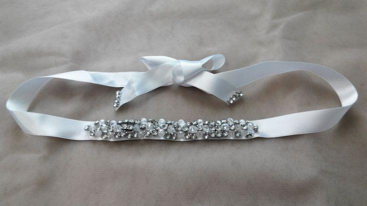 Bridal belt crystals