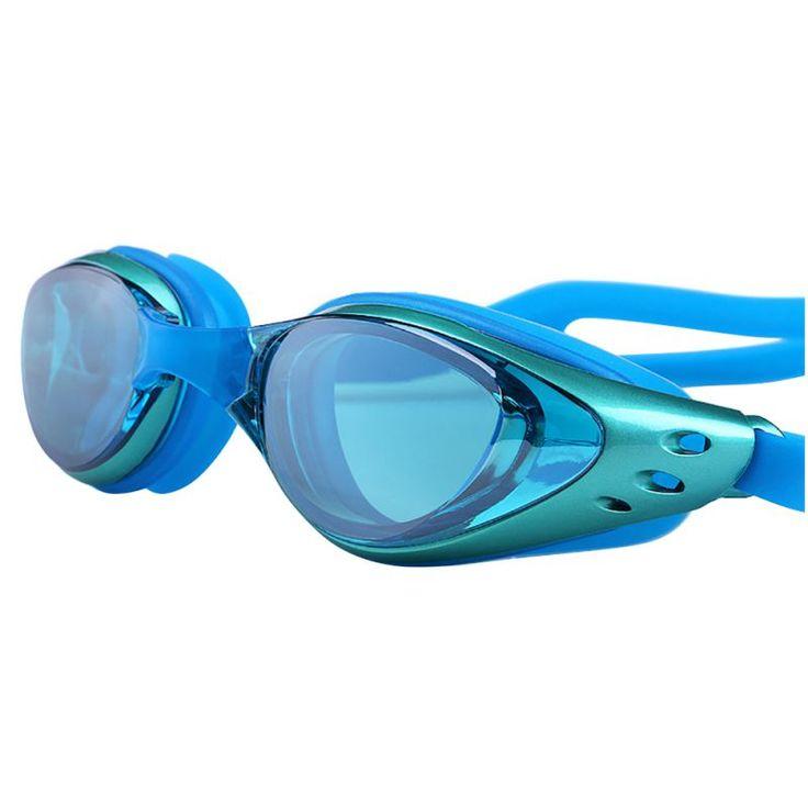 Ajustable Impermeable Anti Niebla Protección UV Lentes de Color Profesional de Buceo gafas de Natación Gafas de Adultos