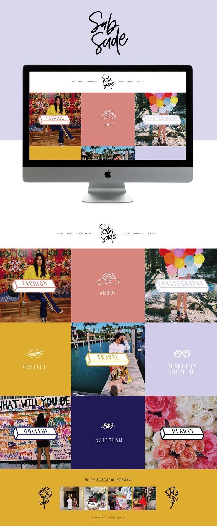 Sab Sade Is Live On Squarespace Website Designs Web Design Inspiration 2018 Bes Portfolio Website Design Website Layout Inspiration Website Design Layout