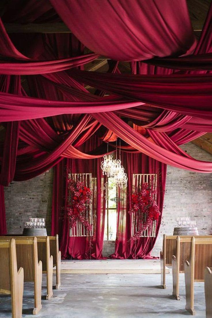 60 wide 10 yards wine chiffon fabric drape drapery etsy