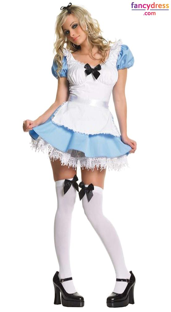 Lovely Look Adorable With This Cute Alice In Wonderland Costume **We Ship  Worldwide**