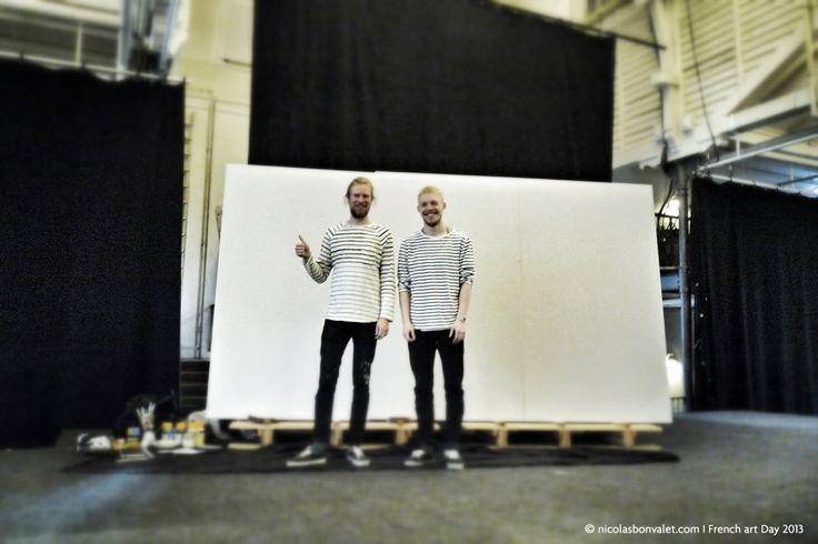FAD2013 - PARIS-KØBENHAVN FRANSK-DANSK KULTURFESTIVAL i Øksnehallen, Live Wall Painting I More info: frenchartday.com